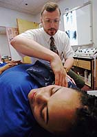Chiropractors are a pain in the neck at York University